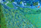 Vineyard With a View of Auvers (After Van Gogh)