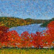 New Painting: Squantz Pond